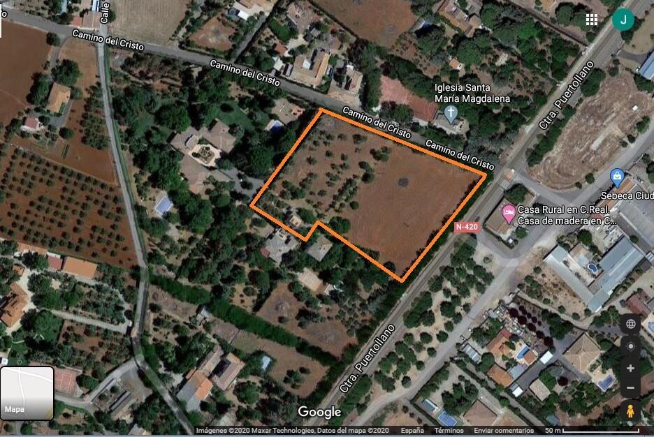 Se vende parcela de 10.000 m2 en La Poblachuela, Ciudad Real